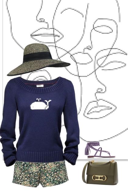 blue baluga sweater