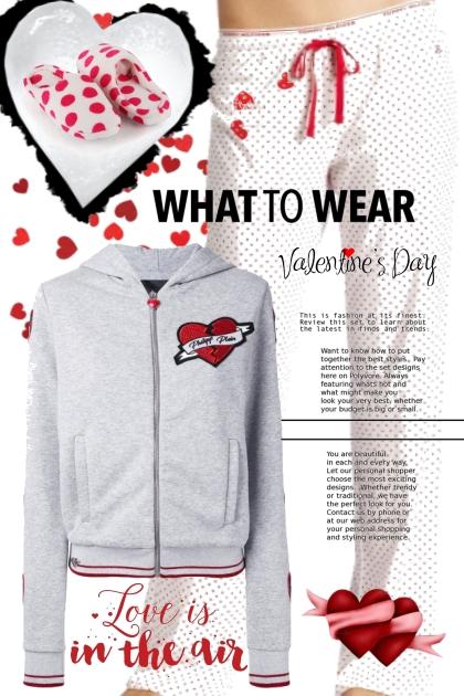 valentines pj's- Fashion set
