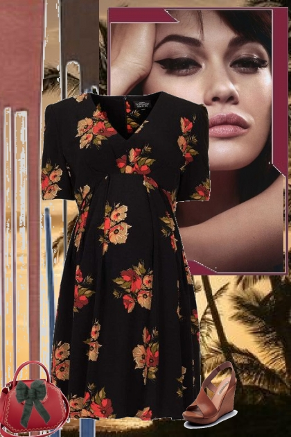 get away in flowers- Fashion set