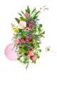 Bubblegum Moon Habitat - floral