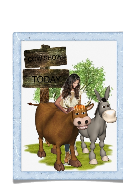 COW SHOW TODAY