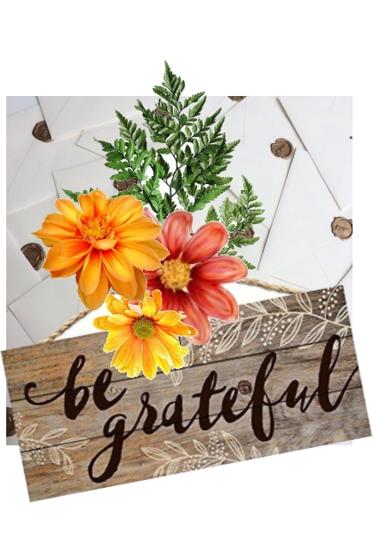 There is always something to be grateful for...- Fashion set