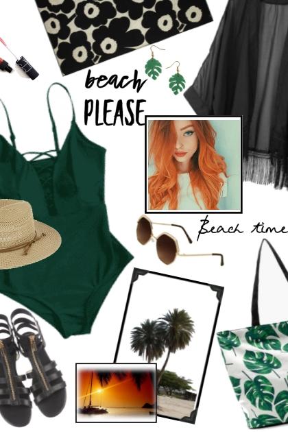 Mel Beach Babe Outfit