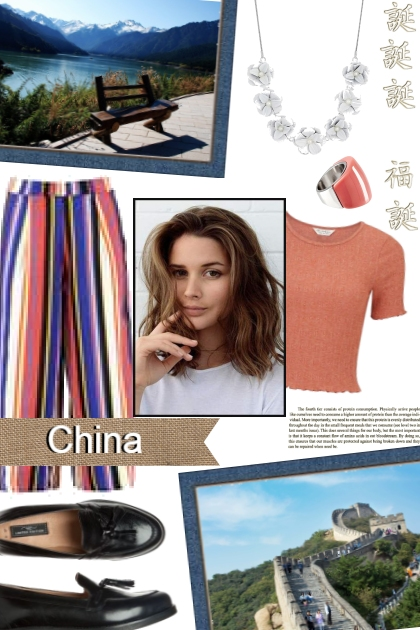 Laura in China