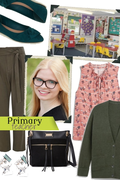 Lilly Teacher outfit