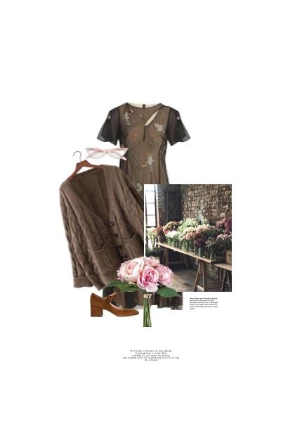 La Fleuriste / The Flower Shop Girl
