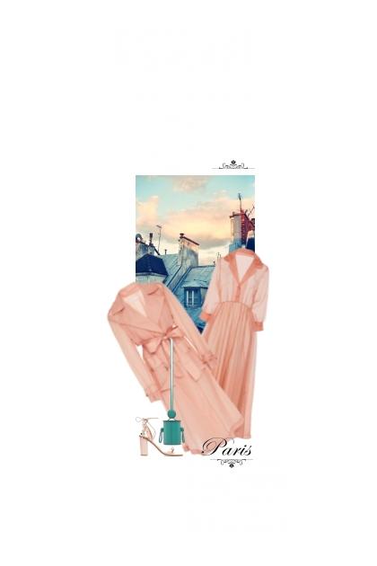 Les Couleurs Du Ciel Au-Dessus De Paris ☆- Combinazione di moda
