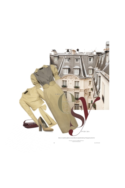 Les Toits De Paris / The Roofs Of Paris- Fashion set