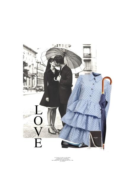le Baiser Sous La Pluie / The Kiss In The Rain