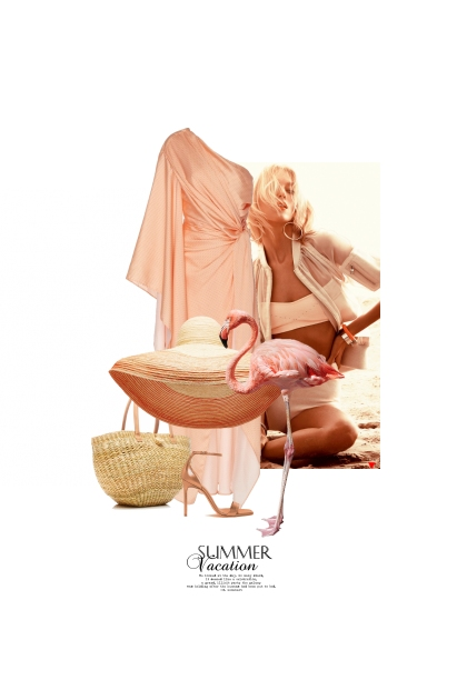 Le Flamant Rose / The Flamingo- Combinazione di moda