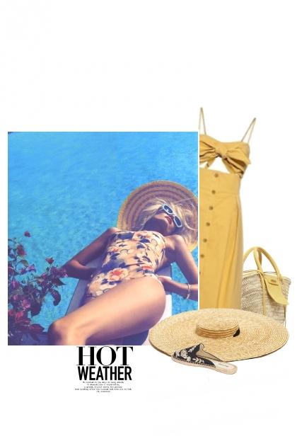 La Piscine / The Pool- Combinazione di moda