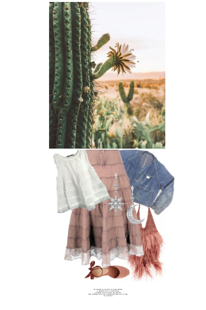 Fleur De Cactus / Cactus Flower- Combinazione di moda