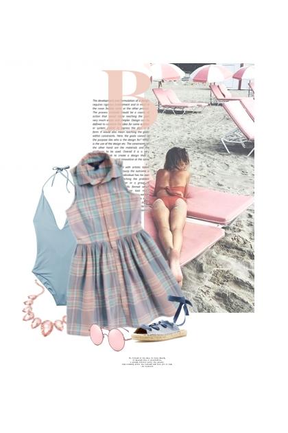Humeur De Couleur Pastel / Pastel Colour Mood- Modna kombinacija