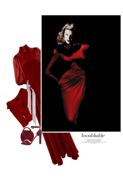 Enveloppée De Rouge / Wrapped Up In Red