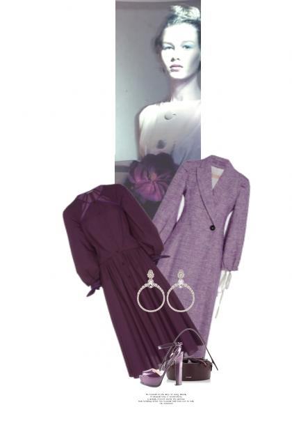 Une Fleur Pourpre / A Purple Flower- Fashion set
