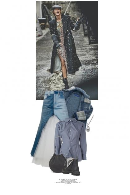 Danser Avec Les Flocons De Neige- Fashion set