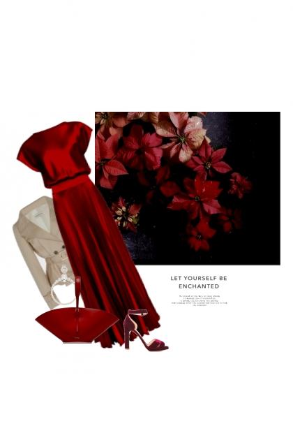 Poinsettia- Combinazione di moda