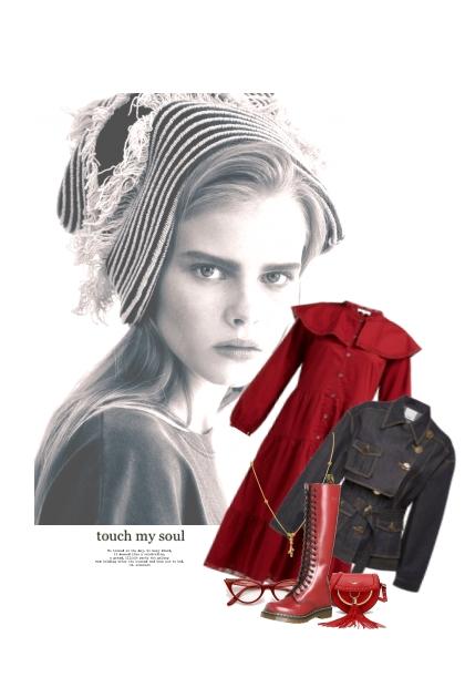 Une Demande Qui Vient Du Coeur- Combinazione di moda
