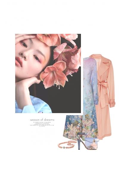 Rêver Avec Les Fleurs- Modna kombinacija