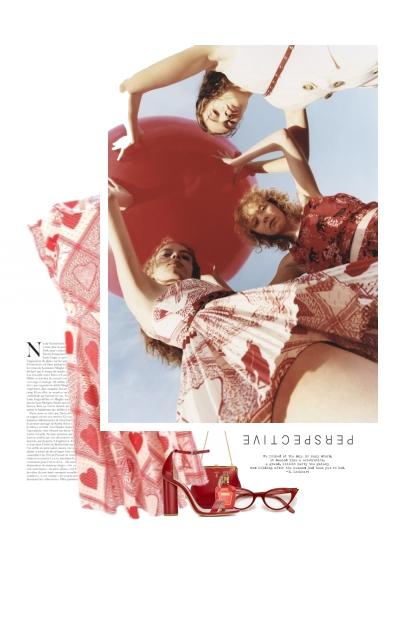 Le Gros Ballon Rouge- Fashion set