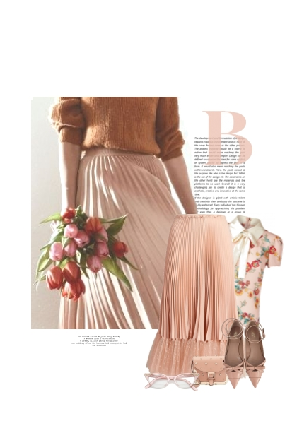 Le Bouquet De Tulipes- Fashion set