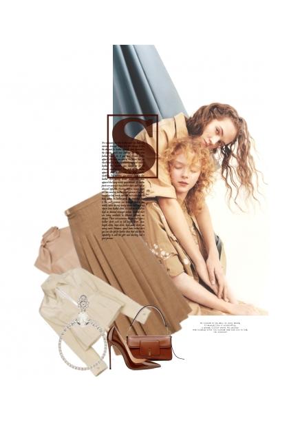 Soeurs Par Le Sang Et Le Coeur- Fashion set