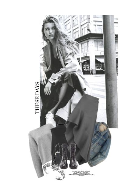 Un Regard En Provenance De La Rue- Combinazione di moda