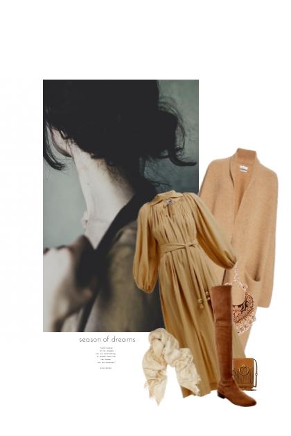 Une Caresse D'Automne- Fashion set