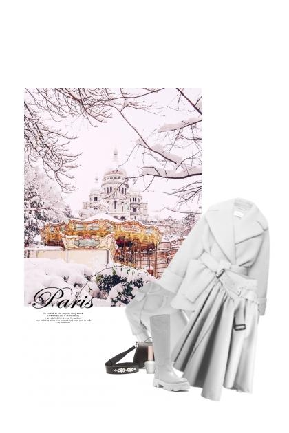 Parfois Paris Se Couvre De Neige