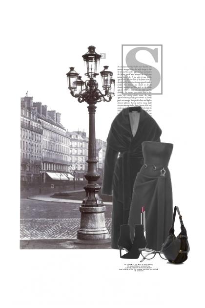 Pendant Que Paris Dort- Fashion set