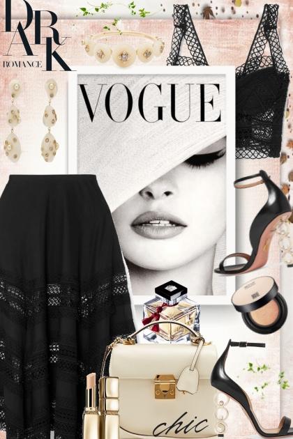 Dark Romance!- Combinaciónde moda