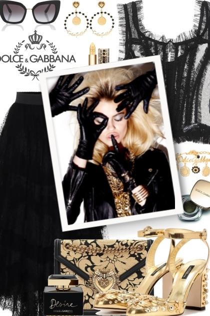 Dolce&Gabbana- Modna kombinacija