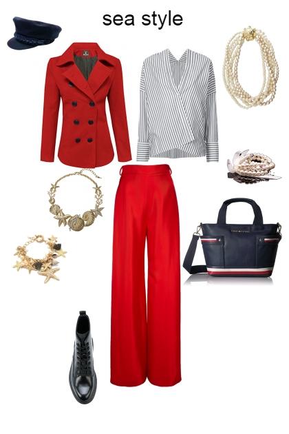sea style- Fashion set