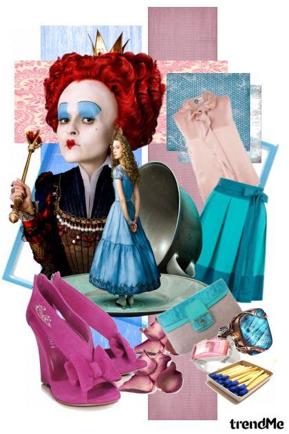 Red Queen & Blue Alice