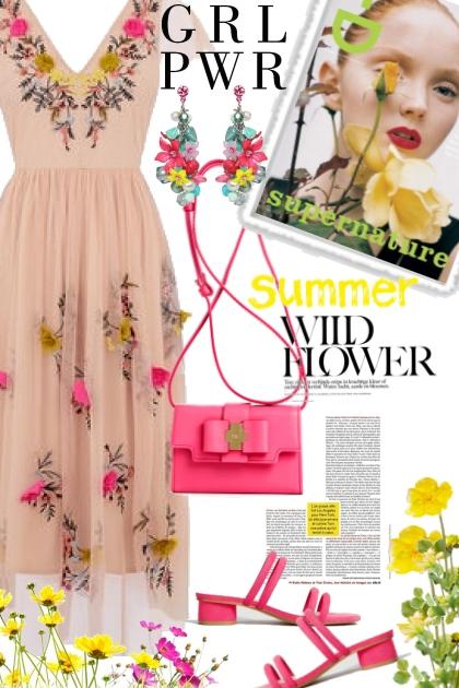 Girl Power is Summer Flower