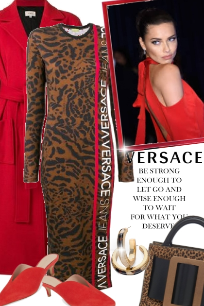 Be Strong Enough with Versace