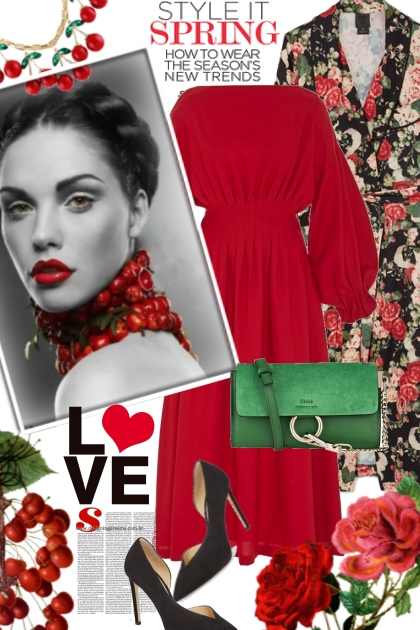Style It Cherry Red Spring