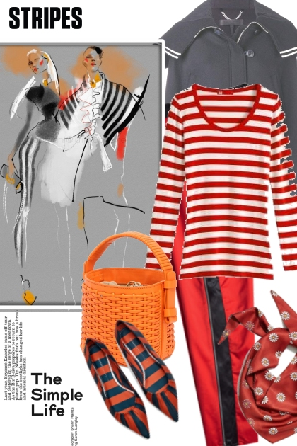 The Simple Life In Stripes
