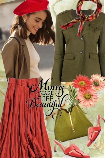 Moms Make Life Beautiful- Fashion set