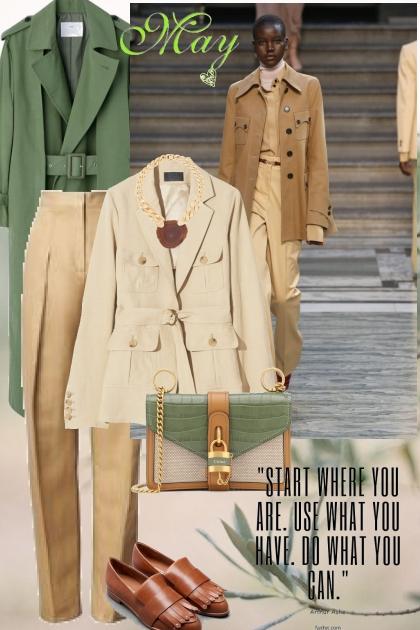 Start Where You Are- Combinazione di moda