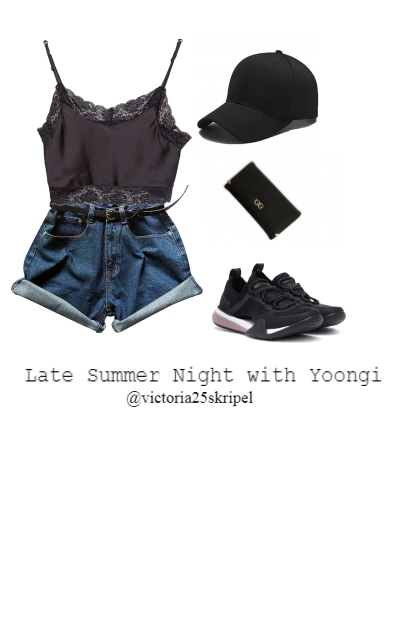 Late Summer Night with Yoongi