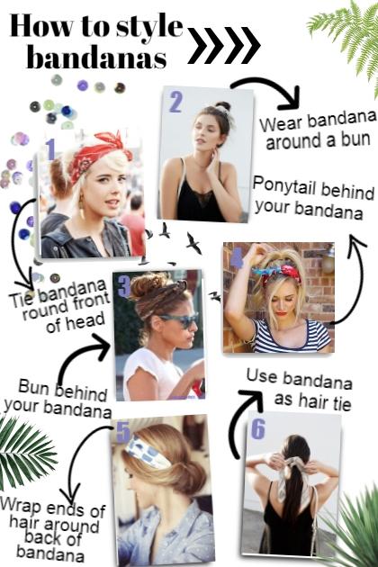 How to style bandanas