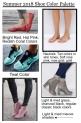 Summer 2018 Shoe Color Palette