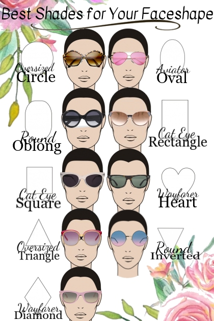 Best Shades for Your Faceshape