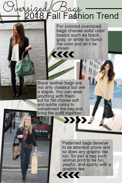 oversized bags trend