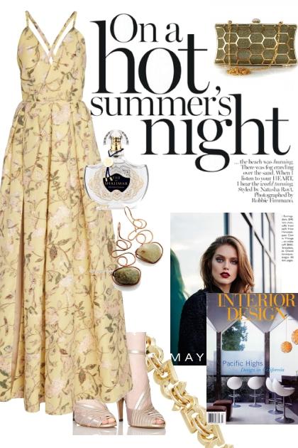 On a hot summer's night