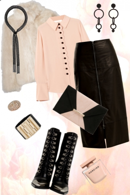 Pink & Leather