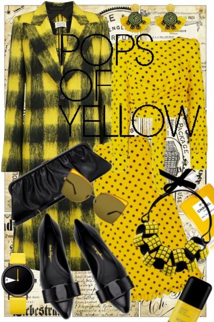 Yellow, Black