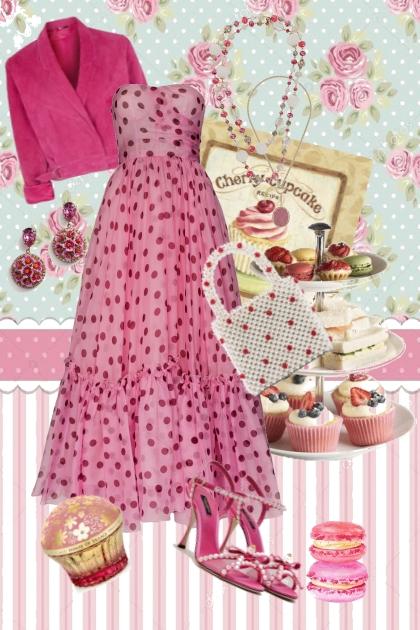 Sweet Pink Cupcake