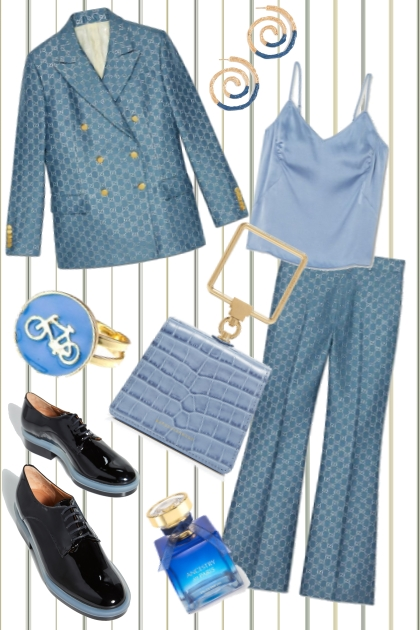 Blue Spring- Fashion set